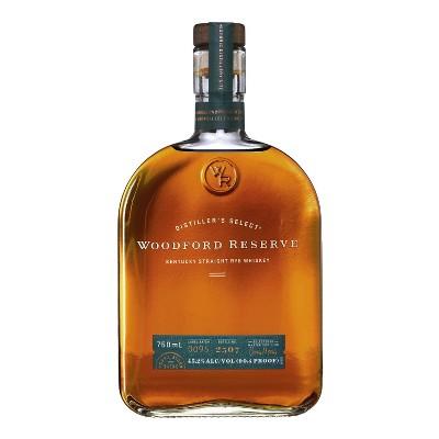 Woodford Reserve Kentucky Straight Rye Whiskey - 750ml Bottle