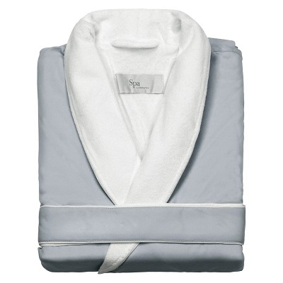 Platinum Bath Robe L/XL Sage - Cassadecor