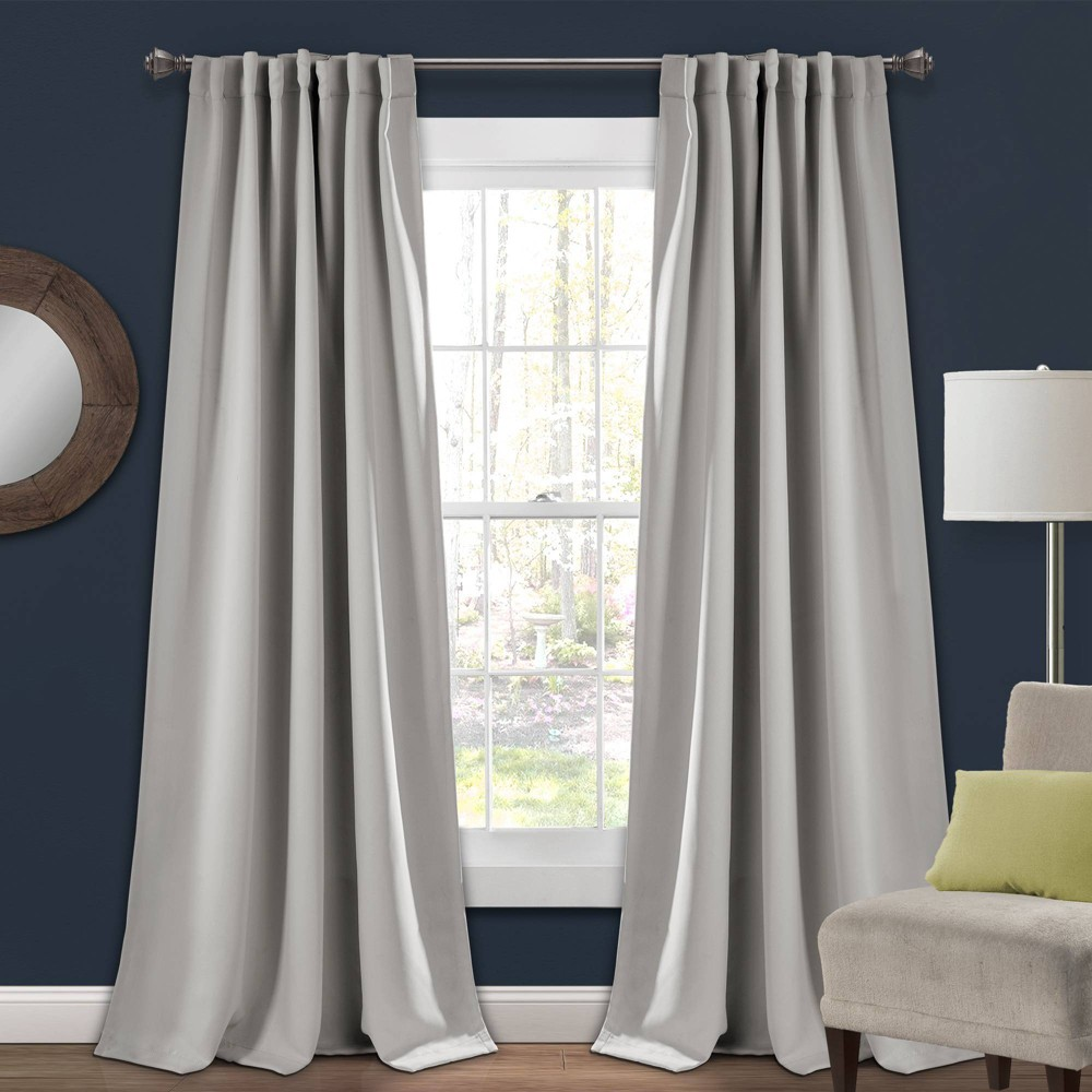 Wondrous 52X84 Insulated Back Tab Blackout Window Curtain Panels Squirreltailoven Fun Painted Chair Ideas Images Squirreltailovenorg