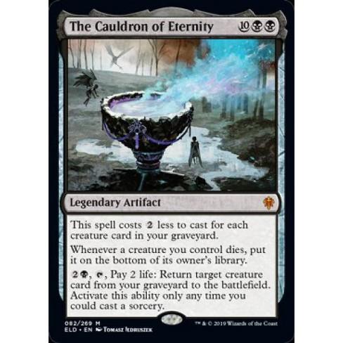 MtG Throne of Eldraine Mythic Rare Foil The Cauldron of Eternity #82 - image 1 of 1
