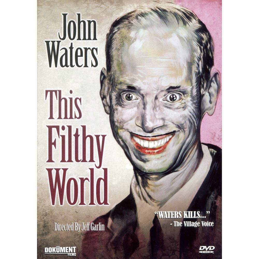 John waters:This filthy world (Dvd)
