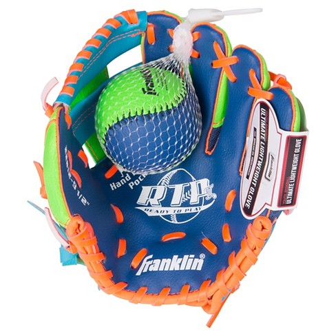 "Franklin Sports 9.5"" Teeball Right Handed Thrower Recreational Glove with Ball - image 1 of 2"