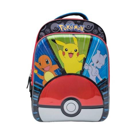 "Pokemon 16"" Molded Kids' Backpack - Black/Blue - image 1 of 9"