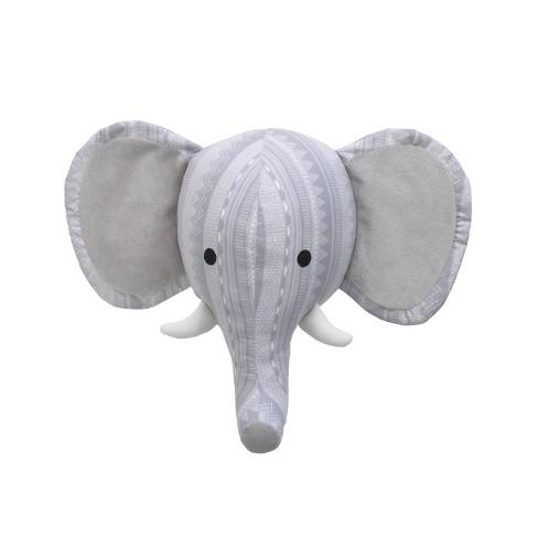 Nojo Elephant Decorative Wall Sculpture - image 1 of 4