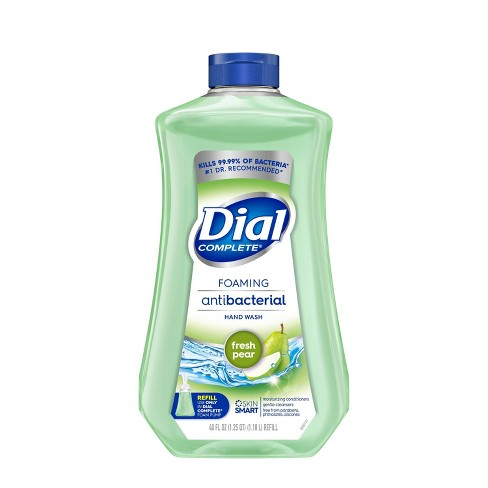 Dial Soothing Fresh Pear Scented Complete Foaming Antibacterial Hand Wash - 40oz - image 1 of 3