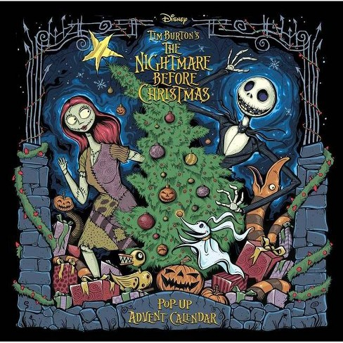 The Nightmare Before Christmas: Pop-Up Book and Advent Calendar - by Insight Editions (Hardcover) - image 1 of 1