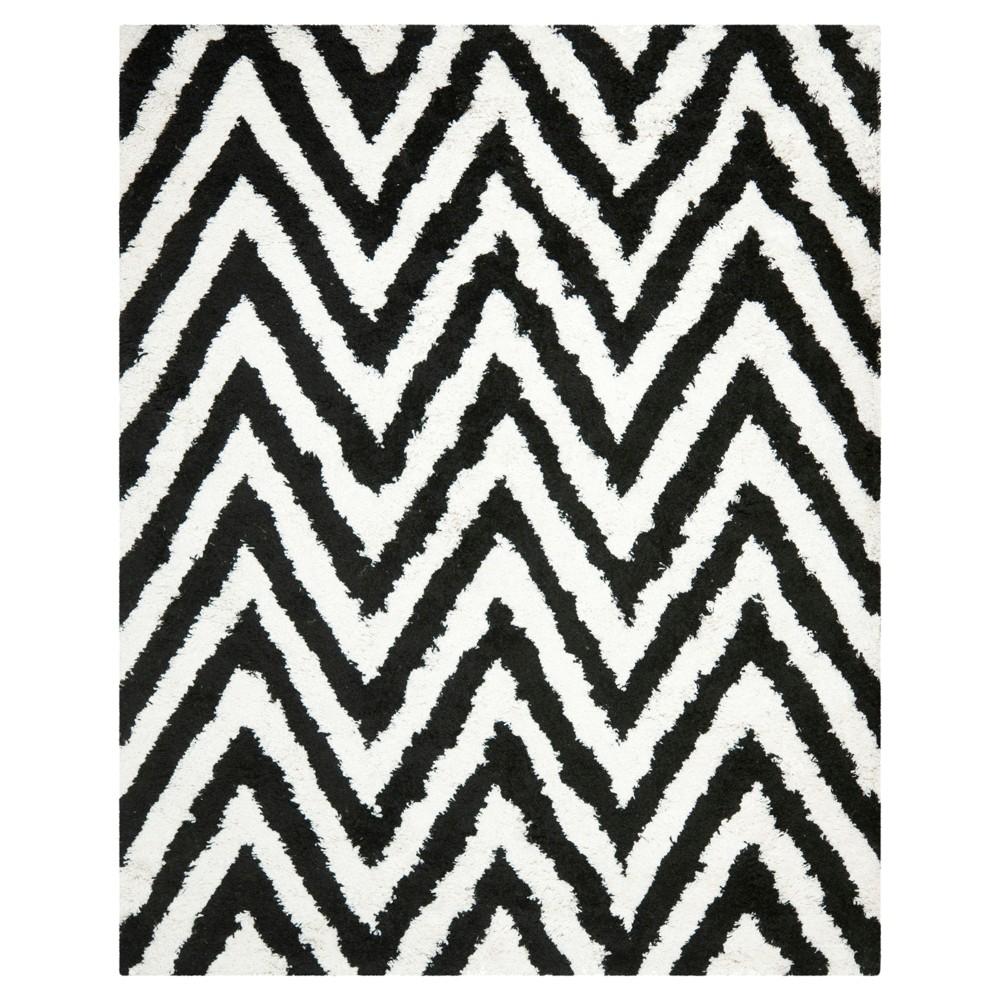 Nori Area Rug - Ivory / Black (8'9 X 12' ) - Safavieh