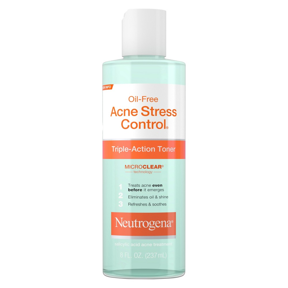 Neutrogena Acne-Fighting Salicylic Acid Facial Toner - 8 fl oz