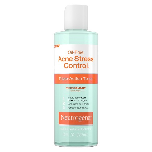 Neutrogena Acne-Fighting Salicylic Acid Facial Toner - 8 fl oz - image 1 of 3