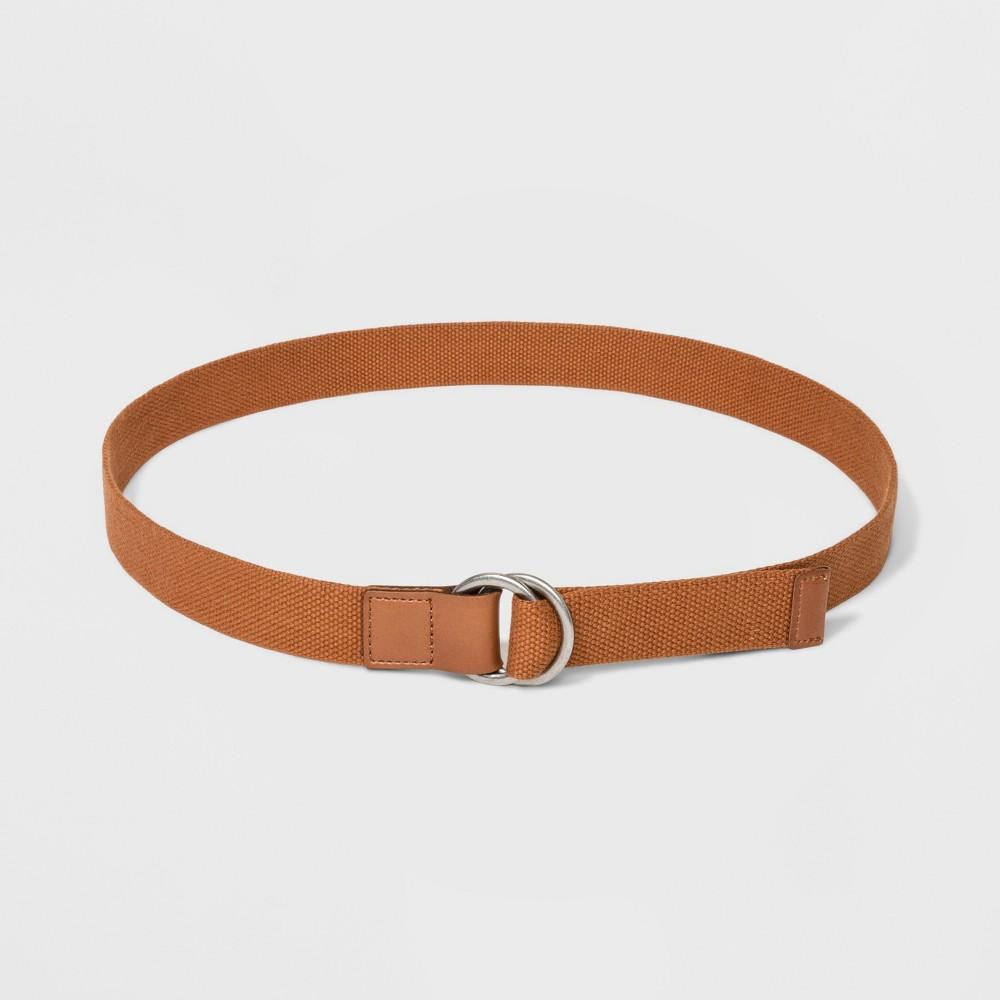 Women's Webbed Belt - Universal Thread Tan Xxl, Brown