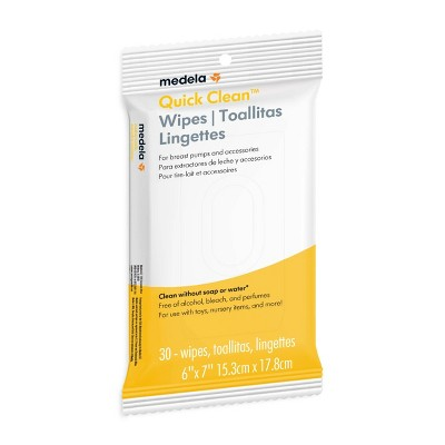 Medela Quick Clean Wipes - 30ct