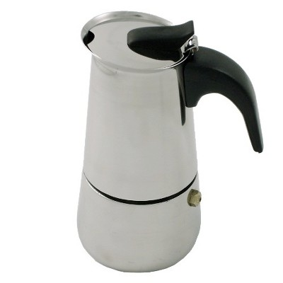 BigKitchen Stainless Steel 2 Cup Italian Style Espresso Maker