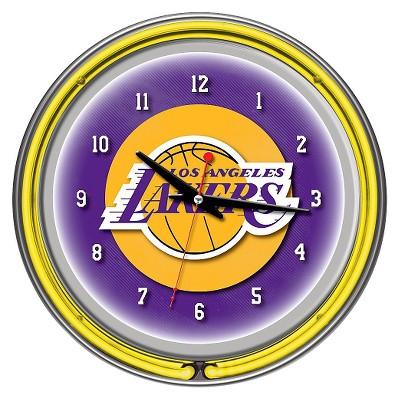 Los Angeles Lakers Team Logo Wall Clock