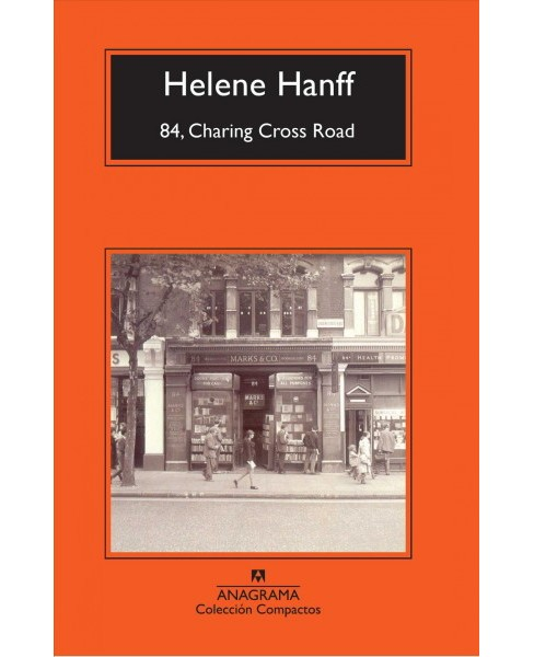 84, Charing Cross Road -  (Compactos) by Helene Hanff (Paperback) - image 1 of 1