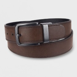 DENIZEN® from Levi's® Men's 38MM Reverse Edge With Stitch In A Heat Ease