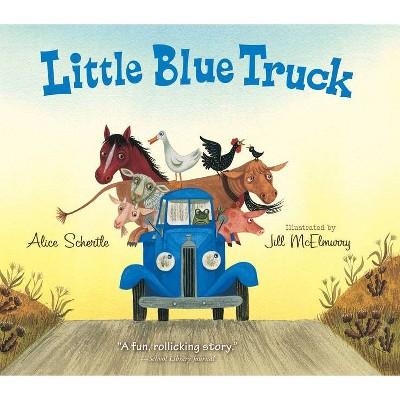 Little Blue Truck P/C - by June Sobel (Board Book)