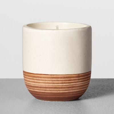 4.2oz Mini Ceramic Candle Redwood - Hearth & Hand™ with Magnolia