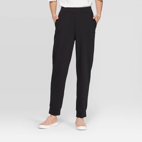 Women's Mid-Rise Straight Leg Knit Jogger Pants - Prologue™ - image 1 of 3