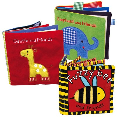 Kaplan Early Learning Co. Animals Cloth Books - Set of 3
