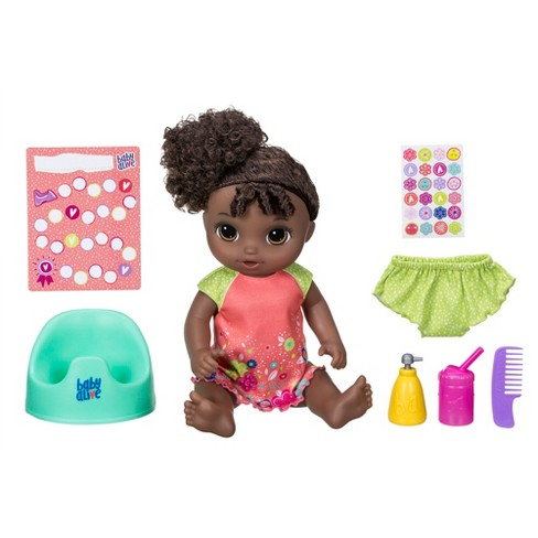 Baby Alive Potty Dance Baby Doll - Black Curly Hair - image 1 of 9