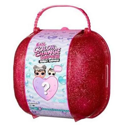 L.O.L. Surprise!Color Change Bubbly Surprise Pink with Exclusive Doll & Pet
