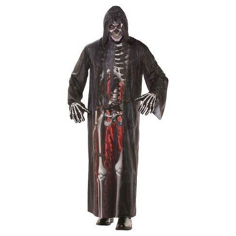 Men's Grim Reaper Photo Real Robe Costume One Size - image 1 of 1