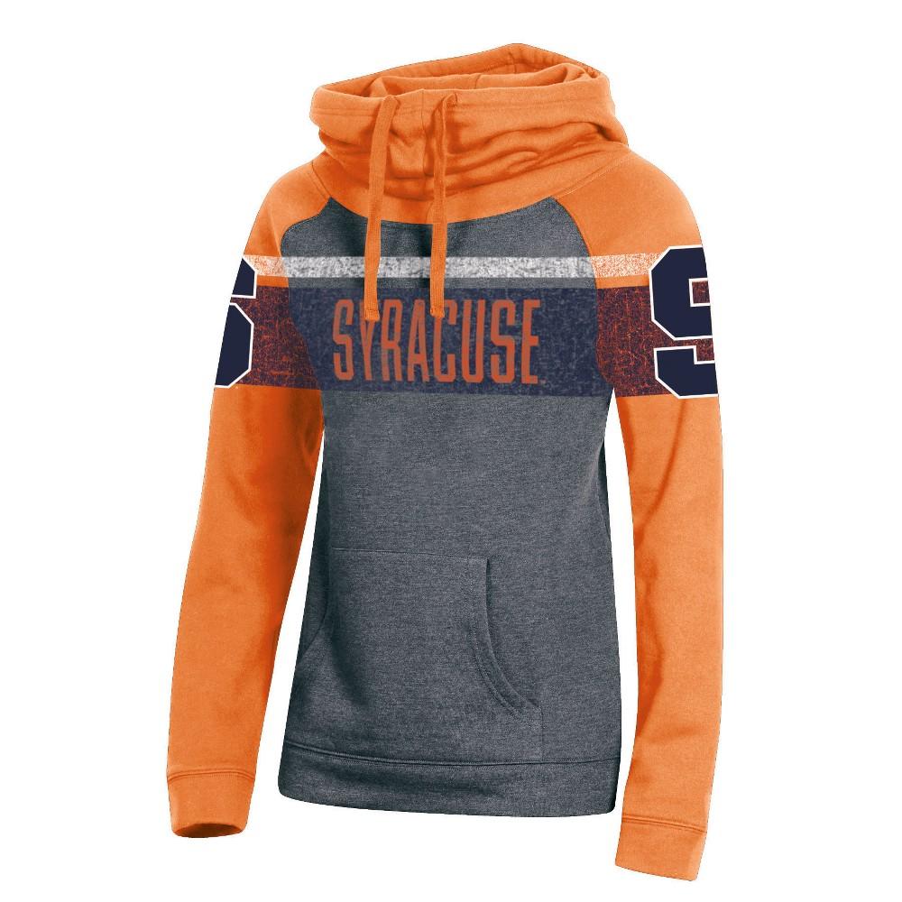 Syracuse Orange Women's Cowl Neck Hoodie - S, Multicolored