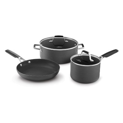 How do you clean calphalon pans