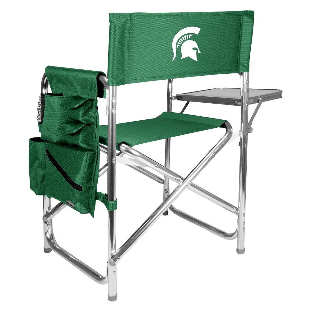 Portable Chair NCAA Michigan State Spartans Bottle Green