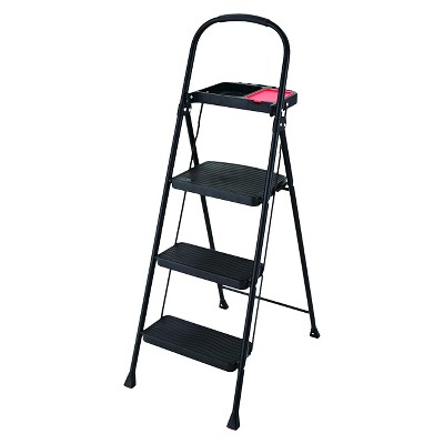 Rubbermaid 3-Step Steel Step Stool with Project Tray