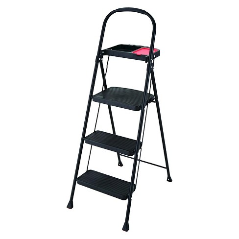 Rubbermaid Steel Step Stool With Project Tray 3 Step Target
