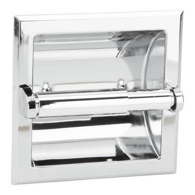 Prestige Series Recessed Toilet Paper Holder Chrome - Exquisite