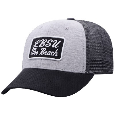 NCAA Long Beach State 49ers Men's Gray Cotton with Mesh Snapback Hat