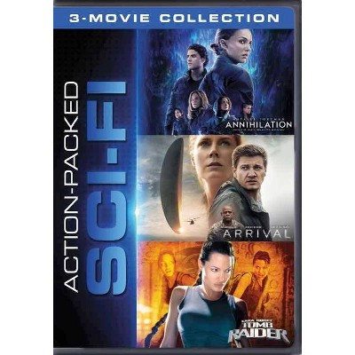 Action Packed Sci-Fi 3-Movie Collection (DVD)(2020)