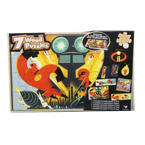 Cardinal Disney Pixar: Incredibles 2 7pk Wood Puzzle 108pc - image 1 of 1