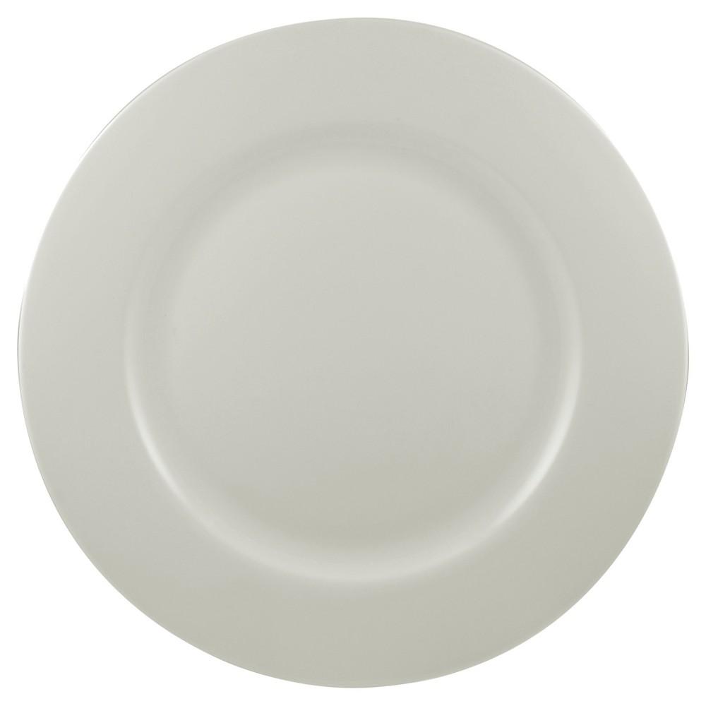 Round Dinner Plate Street Bone China 10.5