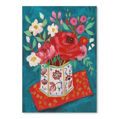 Americanflat Hong Kong Garden Chinoiserie Tin By Sharon Montgomery