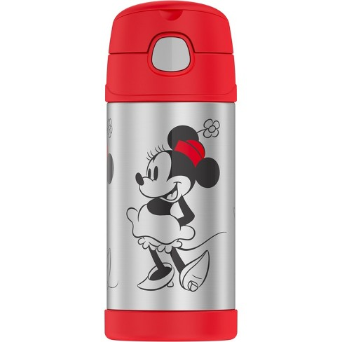 Thermos Minnie Mouse 12oz FUNtainer Water Bottle - Red - image 1 of 4