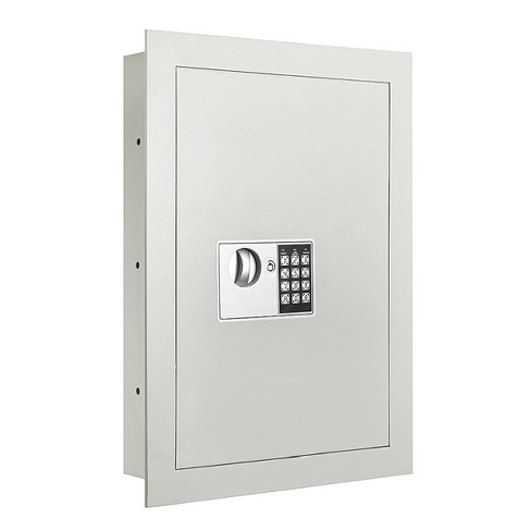 Security Wall Safe Off-White - Fleming Supply - image 1 of 4