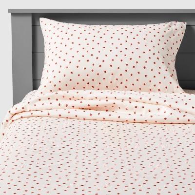 Ladybug Microfiber Sheet Set - Pillowfort™