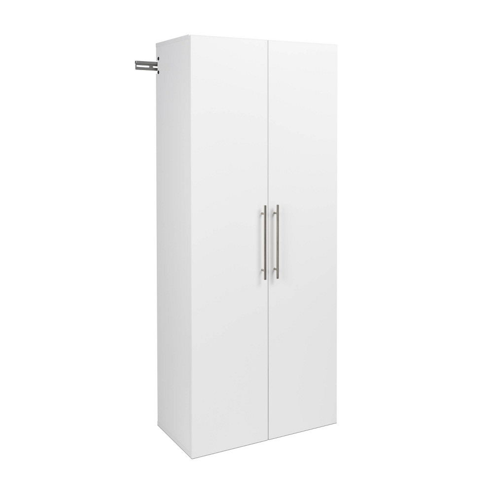 "Image of ""30"""" Hangups Large Storage Cabinet White - Prepac"""