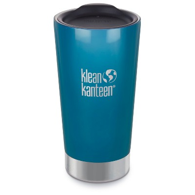 Klean Kanteen® 16oz Vacuum Insulated Tumbler with Lid - Blue Lake