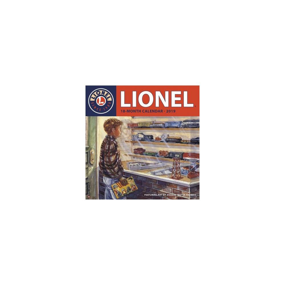Lionel 2019 Calendar - (Paperback)