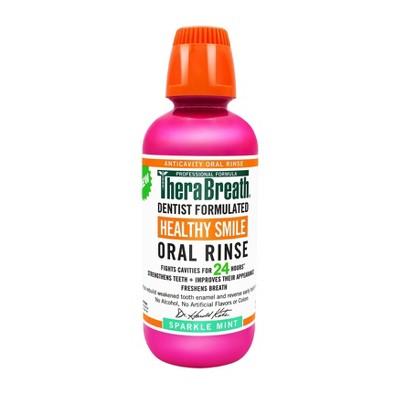 TheraBreath Healthy Smile Oral Rinse Mint - 16 fl oz