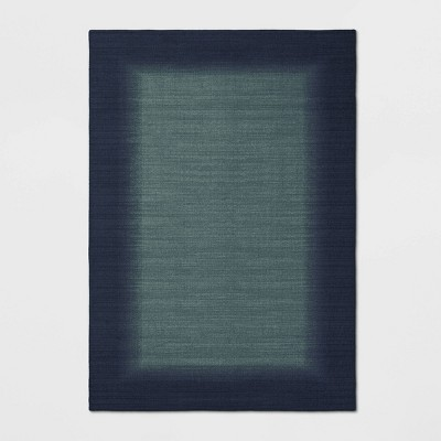 7'X10' Good Fashion Border Rug Blue - Room Essentials™