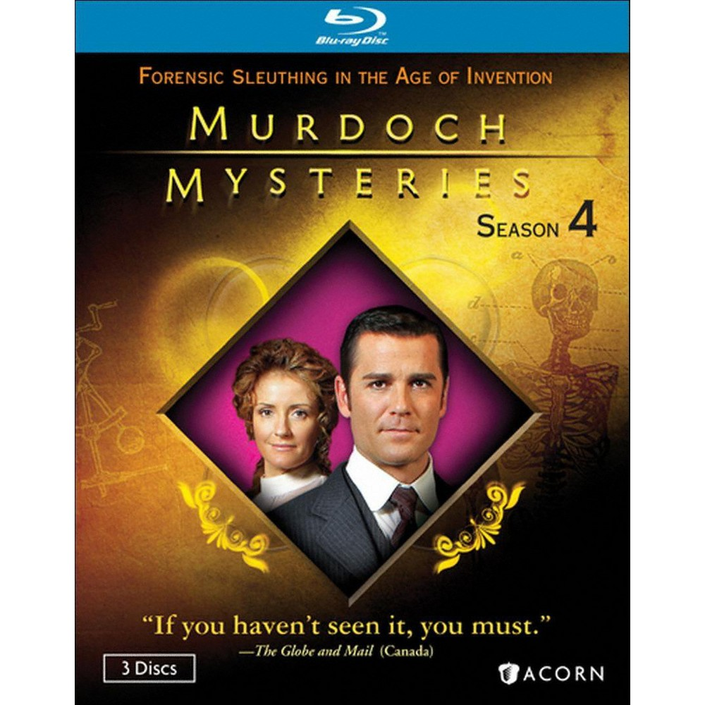 Murdoch Mysteries Season 4 (Blu-ray)