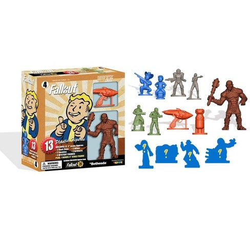 Fallout Nanoforce Series 1 Army Builder Figure Collection - Boxed Volume 4 - image 1 of 6