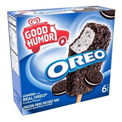 Good Humor Ice Cream & Frozen Desserts Oreo Bar - 6pk
