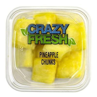 Crazy Fresh Pineapple Chunks - 16oz
