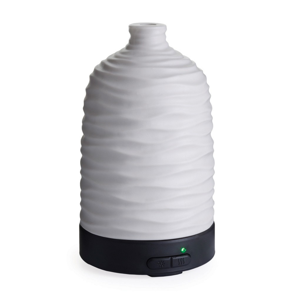 Image of Airome Ultrasonic Oil Diffuser Harmony White - Candle Warmers Etc.